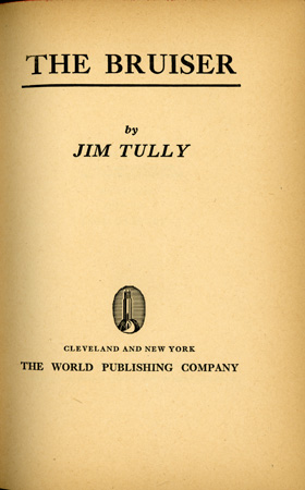 The Bruiser-Title Page